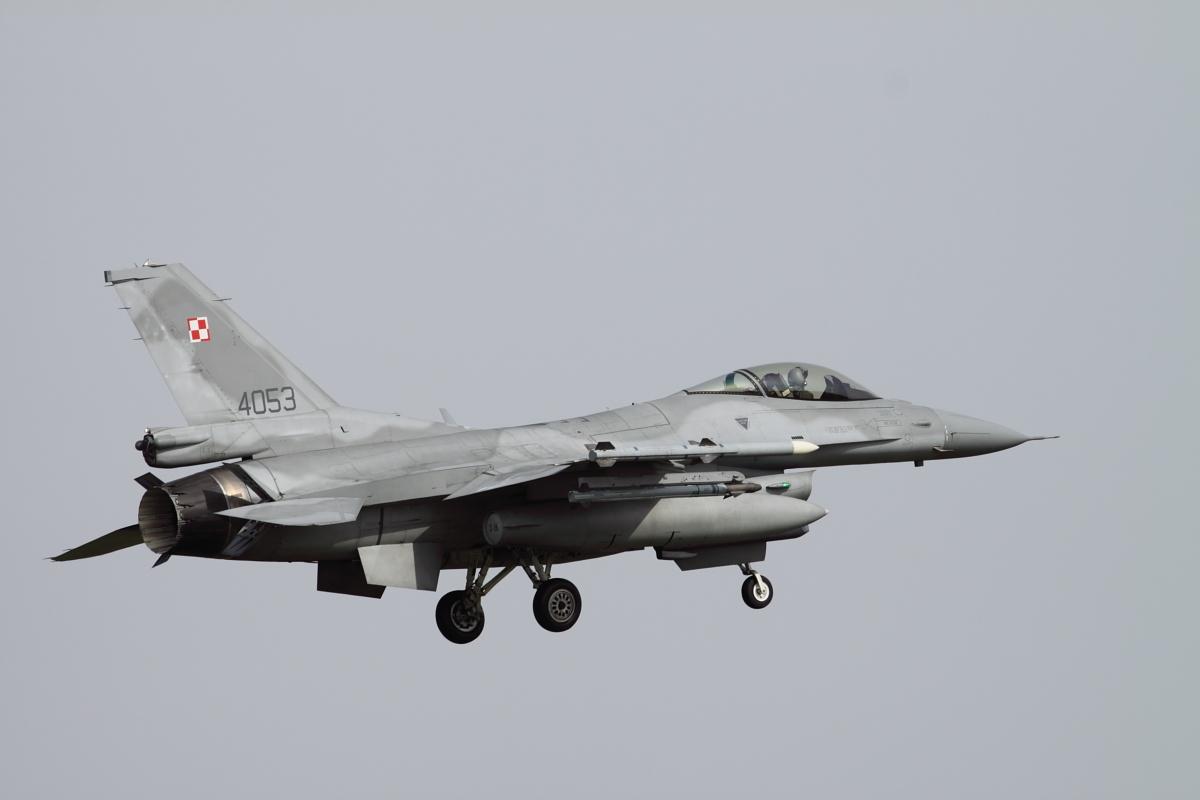 Frisian Flag 2010 Polish AF F-16C